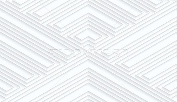 Quilling white paper striped corners Stock photo © Zebra-Finch