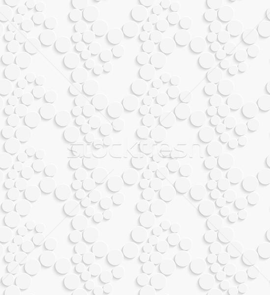 幾何学的な パターン 白 波 シームレス ストックフォト © Zebra-Finch