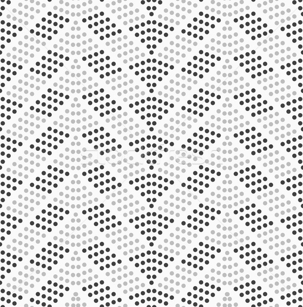 Dotted chevron with dark and light dots Stock photo © Zebra-Finch
