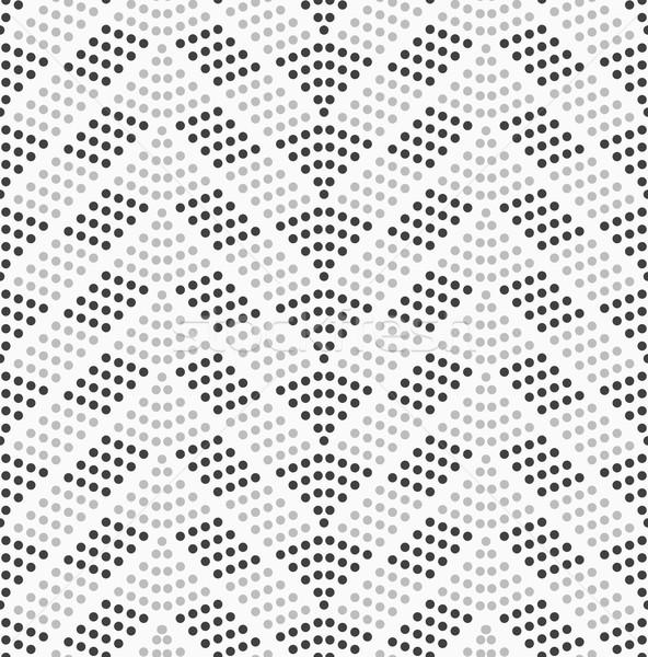 Noktalı karanlık ışık soyut geometrik tek renkli Stok fotoğraf © Zebra-Finch