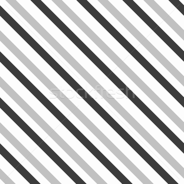 Monochrome pattern with thick gray and black diagonal lines Stock photo © Zebra-Finch