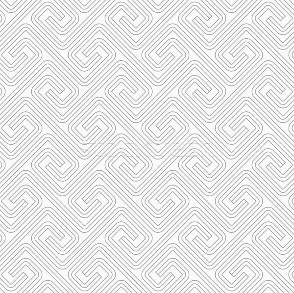 Ince gri kare şık geometrik modern Stok fotoğraf © Zebra-Finch
