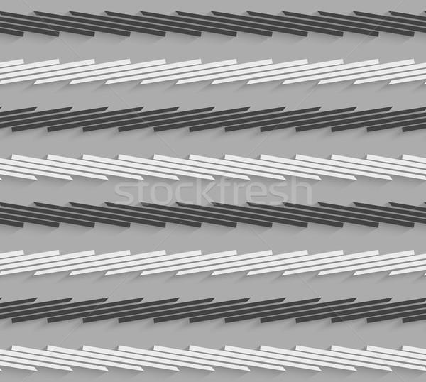 Сток-фото: геометрический · шаблон · серый · черный · горизонтальный · полосатый