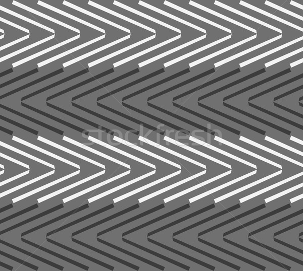 モノクロ パターン 黒白 シームレス スタイリッシュ 幾何学的な ストックフォト © Zebra-Finch