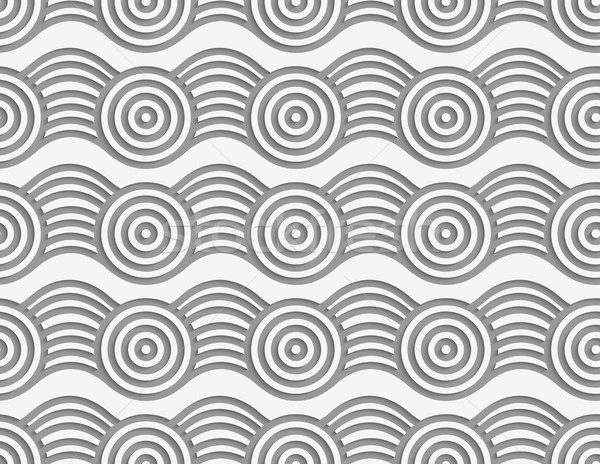 Circles şerit modern geometrik etki Stok fotoğraf © Zebra-Finch