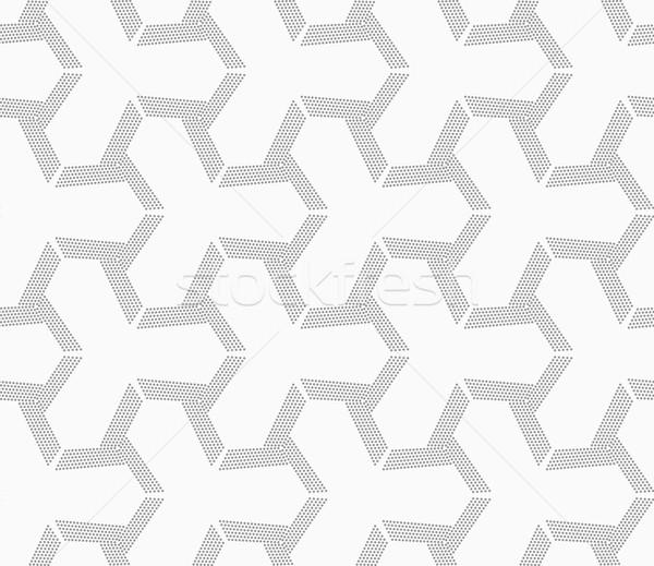 Gray dotted offset tetrapods Stock photo © Zebra-Finch