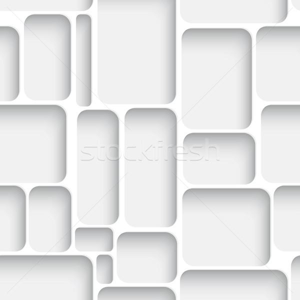 Fehér net végtelenített absztrakt átló valósághű Stock fotó © Zebra-Finch
