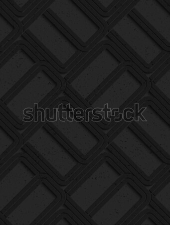 Textured black plastic solid spool shape Stock photo © Zebra-Finch