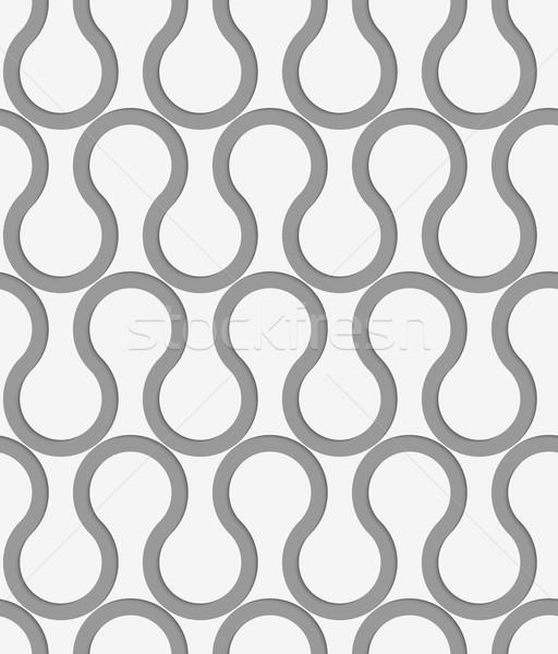 Perforated horizontal waves Stock photo © Zebra-Finch