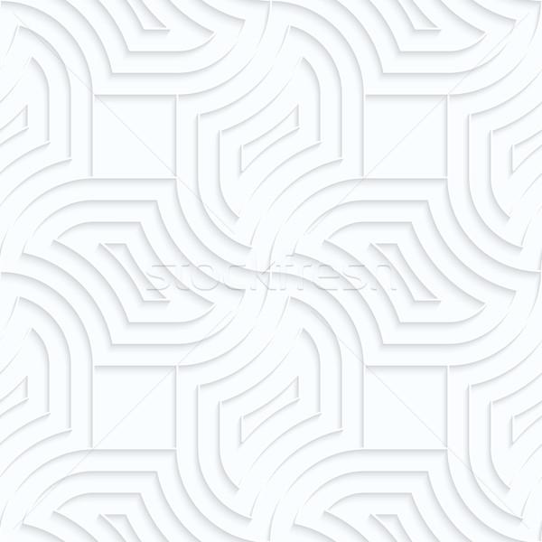 白 紙 ダイヤモンド ピン ホイール 幾何学的な ストックフォト © Zebra-Finch