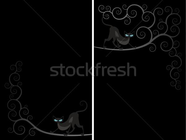 Cat spiral flayer Stock photo © Zebra-Finch