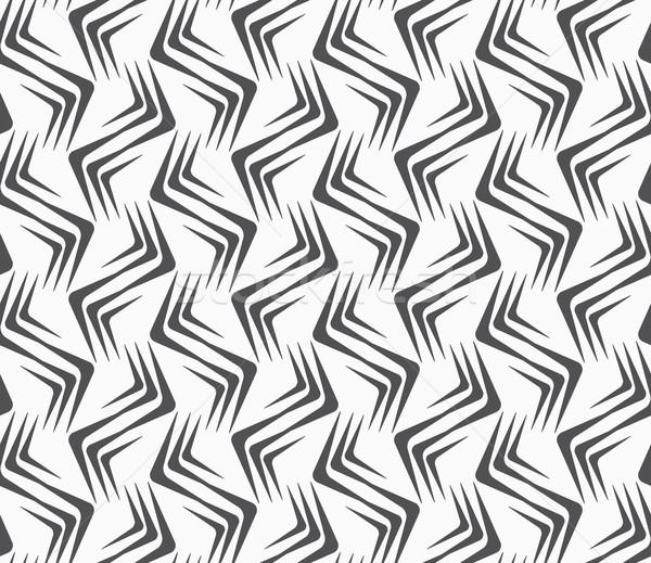 Süs dikey dalgalı köşeler Stok fotoğraf © Zebra-Finch