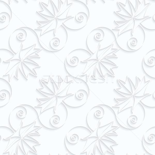 紙 対角線 メイプル 葉 静脈 幾何学的な ストックフォト © Zebra-Finch