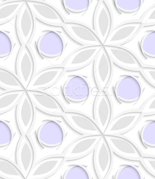 フローラル 紫色 シームレス 抽象的な ストックフォト © Zebra-Finch