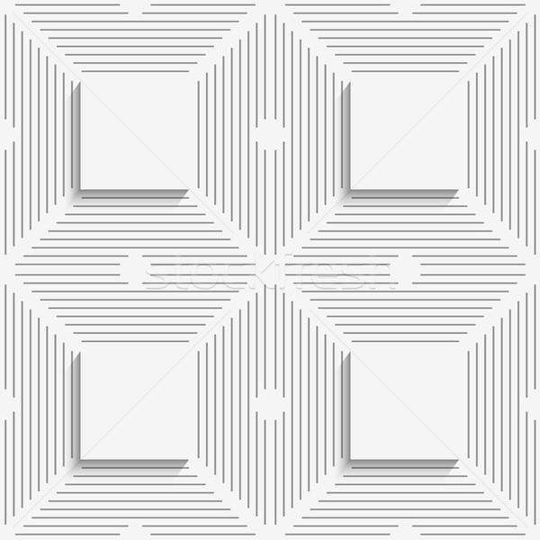 Сток-фото: геометрический · шаблон · белый · полосатый · бесшовный