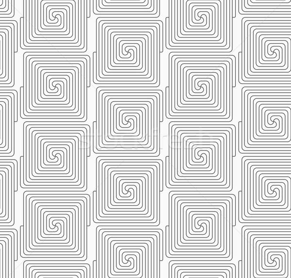スリム グレー 広場 シームレス ストックフォト © Zebra-Finch