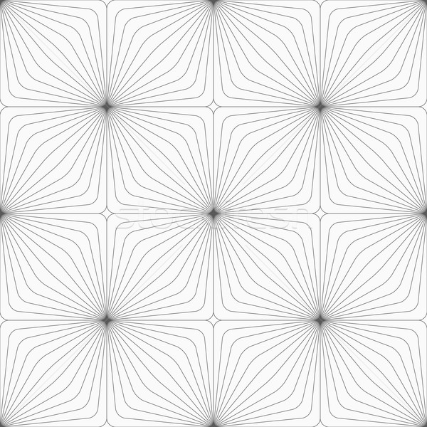 Gray diagonally striped squared reflected Stock photo © Zebra-Finch
