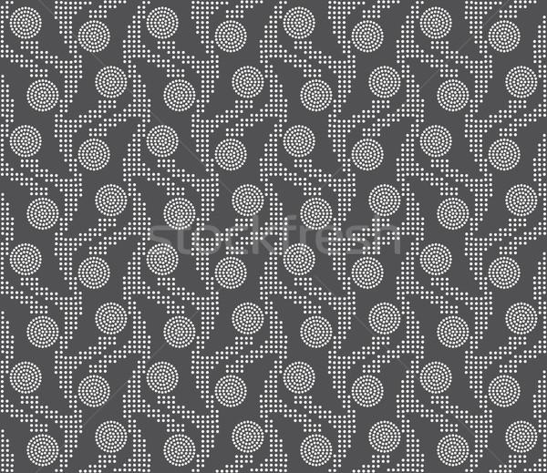 飾り 垂直 点在 サークル ストックフォト © Zebra-Finch
