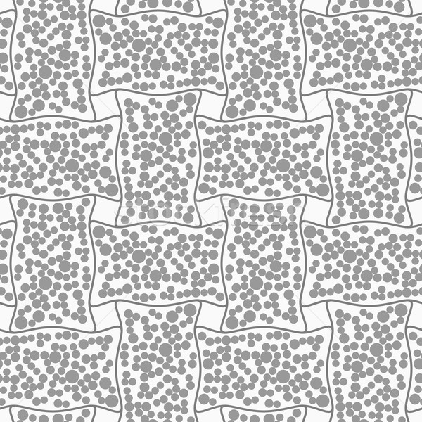 Dotted rectangle filled with dots Stock photo © Zebra-Finch