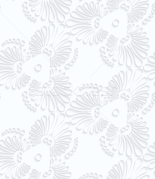 Papel florecer lacrimógenos gotas geométrico Foto stock © Zebra-Finch