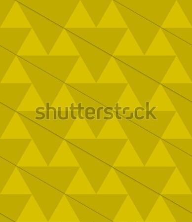 レトロな 3D 緑 対角線 レイヤード パターン ストックフォト © Zebra-Finch