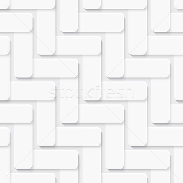Diagonale piazza ornamento bianco abstract senza soluzione di continuità Foto d'archivio © Zebra-Finch