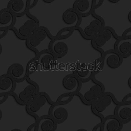 Siyah plastik diyagonal soyut Stok fotoğraf © Zebra-Finch
