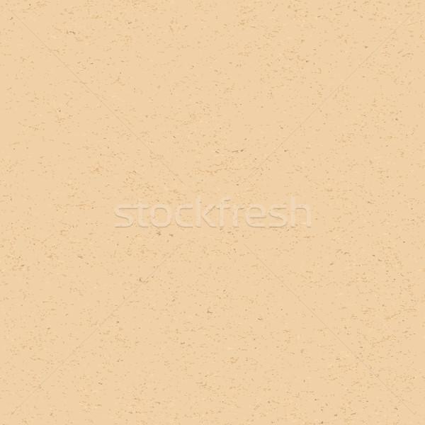 Valósághű újrahasznosított papír végtelenített öreg barna Stock fotó © Zebra-Finch