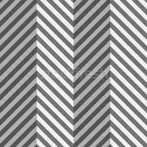 Geometrical pattern with gray and black zigzag lines with folds Stock photo © Zebra-Finch