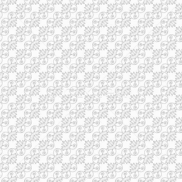 スリム グレー メイプル 葉 静脈 つる ストックフォト © Zebra-Finch