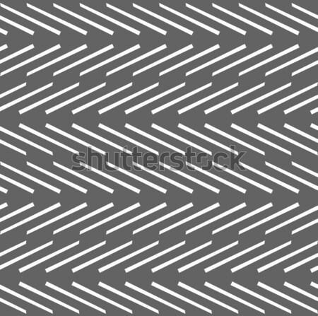 Сток-фото: геометрический · шаблон · серый · горизонтальный · полосатый · линия