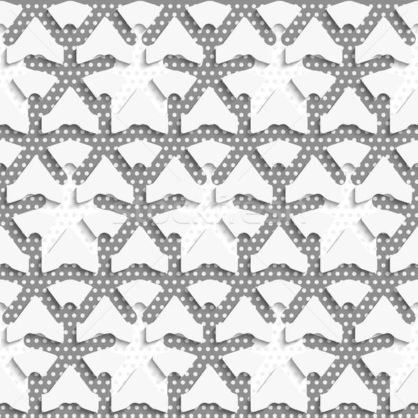 Stok fotoğraf: Beyaz · 3D · gri · model