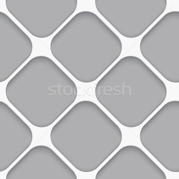 бесшовный белый диагональ широкий квадратный реалистичный Сток-фото © Zebra-Finch