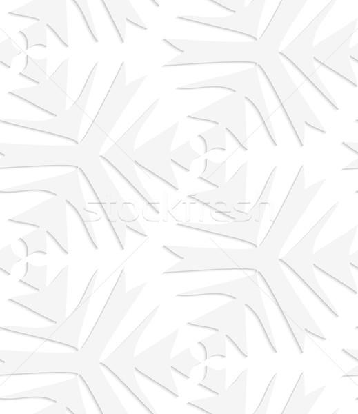 紙 白 複雑な シームレス 効果 ストックフォト © Zebra-Finch
