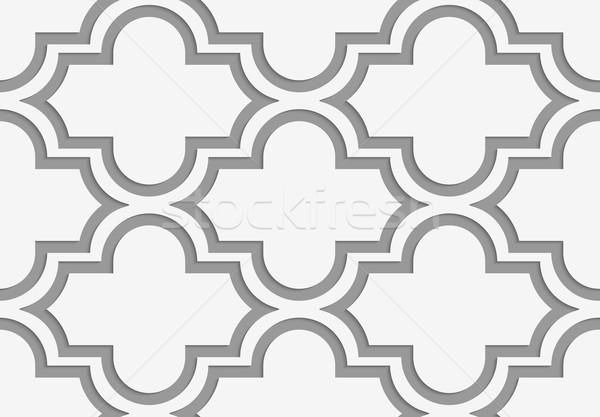 Poziomy geometryczny nowoczesne monochromatyczny 3D tekstury Zdjęcia stock © Zebra-Finch