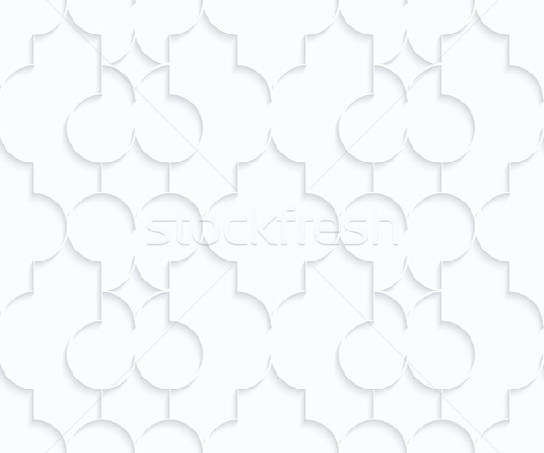 Quilling white paper Marrakech with diamonds Stock photo © Zebra-Finch