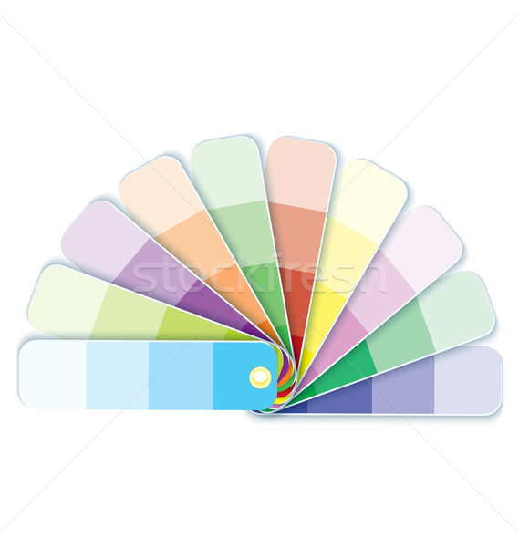 Swatches with tints  vector Stock photo © Zebra-Finch