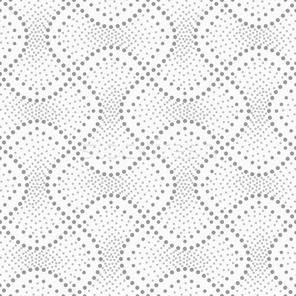 Pontilhado enchimento abstrato geométrico cinza Foto stock © Zebra-Finch