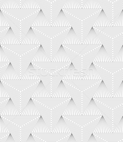 Slim gray hatched triangle Stock photo © Zebra-Finch