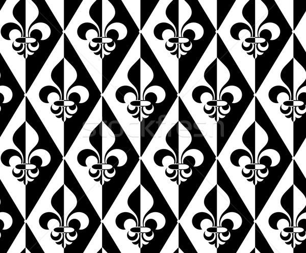 Feketefehér fél elegáns mértani modern absztrakt Stock fotó © Zebra-Finch