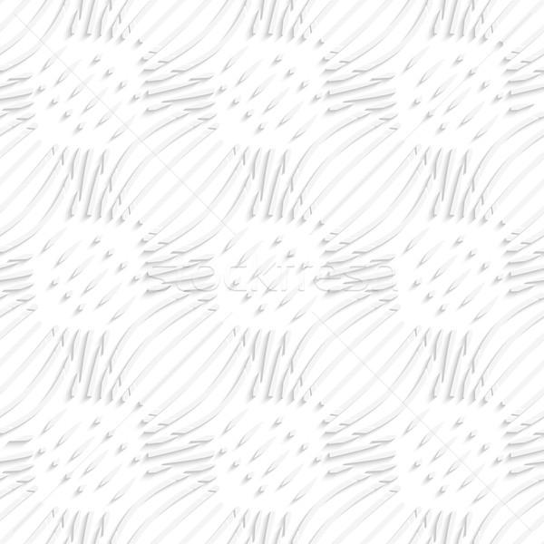 Beyaz basit dalgalı küçük ayrıntılar Stok fotoğraf © Zebra-Finch