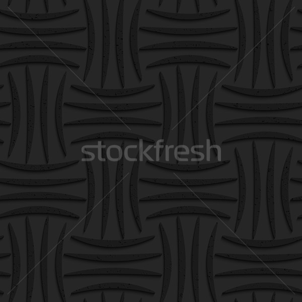 Textured black plastic four stripes pin will Stock photo © Zebra-Finch