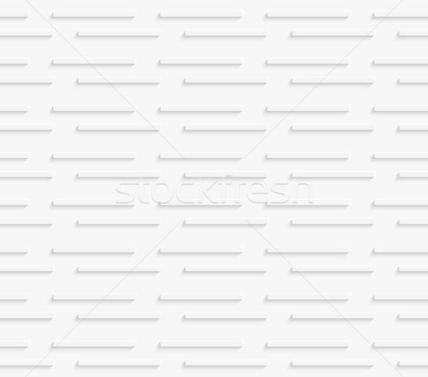 Сток-фото: геометрический · шаблон · белый · горизонтальный · линия · бесшовный