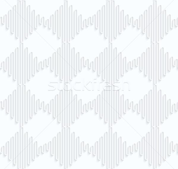 Quilling paper waves forming squares Stock photo © Zebra-Finch