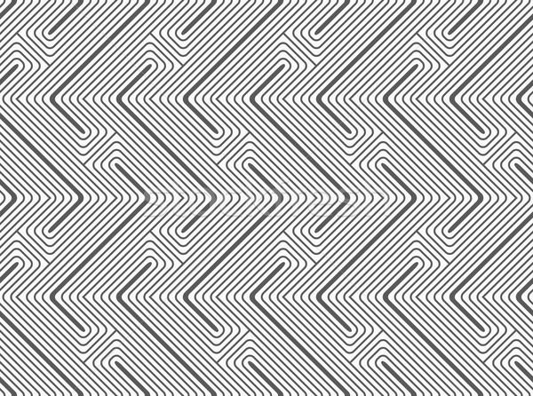 Shades of gray Z shapes Stock photo © Zebra-Finch