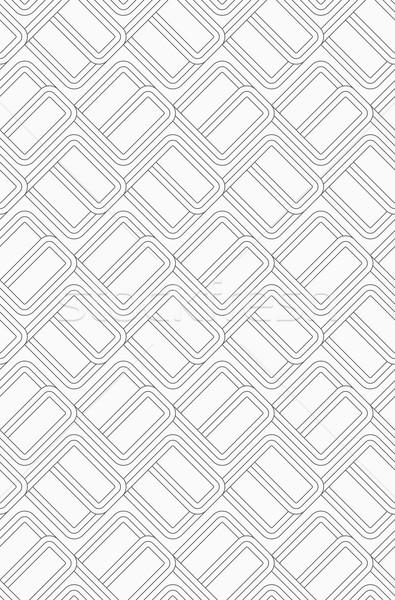 Shades of gray countered bricks Stock photo © Zebra-Finch