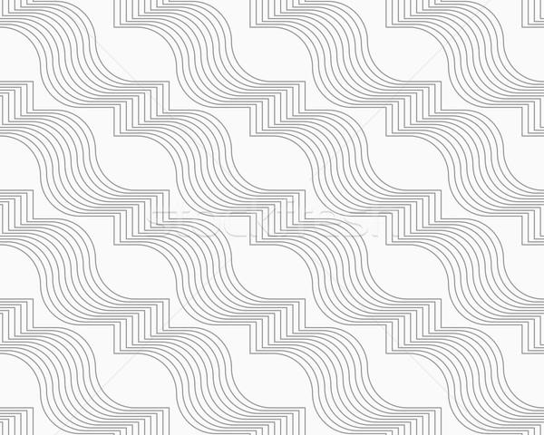 тонкий серый диагональ геометрический Сток-фото © Zebra-Finch