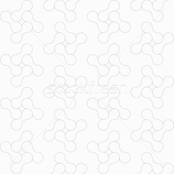 Szczupły szary bezszwowy elegancki Zdjęcia stock © Zebra-Finch