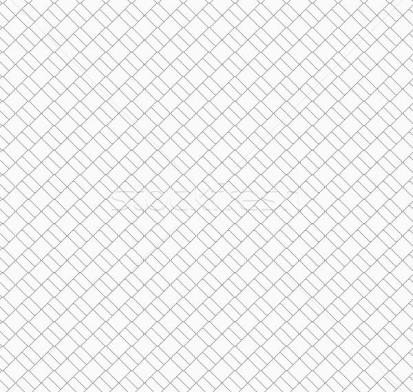 Delgado gris diagonal pequeño ladrillos elegante Foto stock © Zebra-Finch