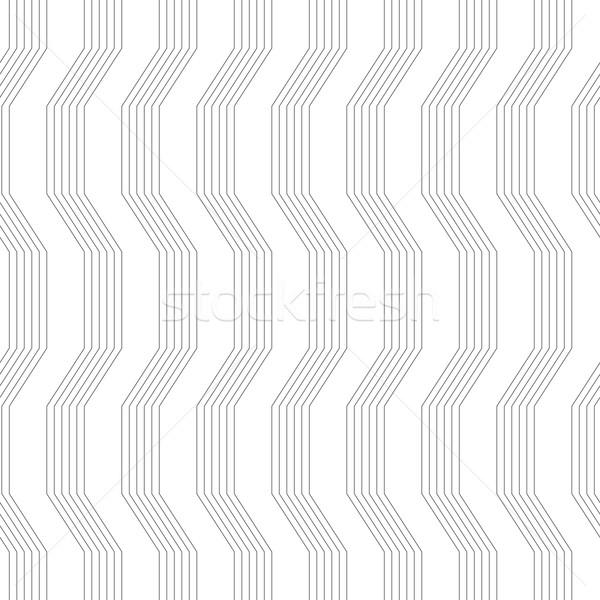 グレー 飾り シームレス スタイリッシュ 幾何学的な ストックフォト © Zebra-Finch